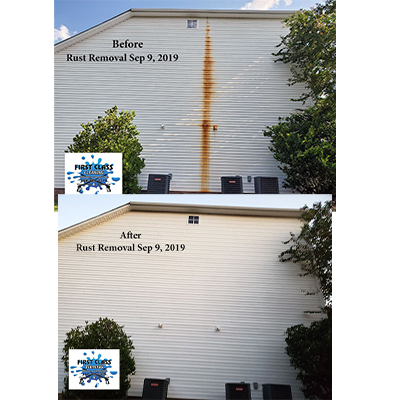Remove Rust Stains from Vinyl Siding