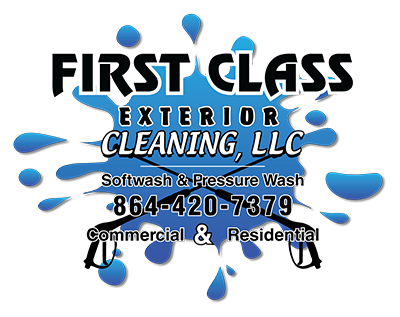 First Class Exterior Cleaning Logo